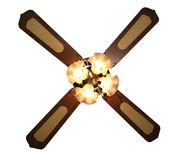 Four lights Ceiling Fan Stock Photos