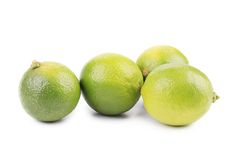 Four Limes. Stock Images