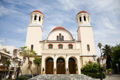 Four Martyrs Church, Rethymno, Crete Stock Photos