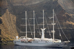 The four masted sailing ship in Sorrento, Stock Photo