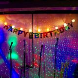 Happy Birthday Song on sparkles royalty free stock photo