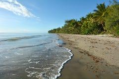 Four Mile Beach in Port Douglas Queensland, Australia. stock photo