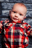 Four Month Old Baby  Boy Royalty Free Stock Photography