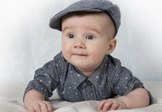 Four months old child Stock Photos