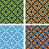 Four mosaics Royalty Free Stock Images