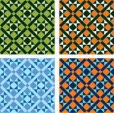 Four mosaics stock illustration