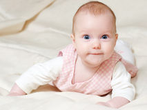 Four mounth infant Royalty Free Stock Photo