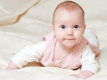 Four mounth infant Royalty Free Stock Photo