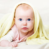 Four mounth infant Stock Photo