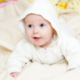 Four mounth infant Royalty Free Stock Image