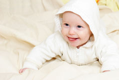 Four mounth infant Royalty Free Stock Photography