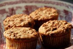 Four muffins Royalty Free Stock Photos