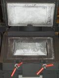 Four noir en métal Photographie stock libre de droits