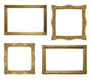 Four Old Antique Frame - Set Stock Photos