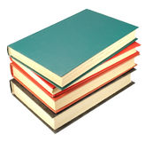 Four old books stack Royalty Free Stock Images