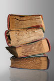 Four old books Royalty Free Stock Image