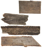 Four old wooden boards.  Wood plank, Stock Images