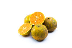 four orange Royalty Free Stock Photography