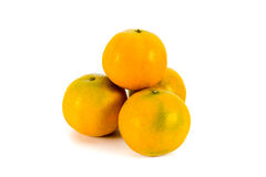 Four oranges for blessing. Four oranges for chinese new year festival Royalty Free Stock Images