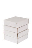 Four of packaging boxes Stock Image