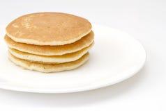 Four Pancakes Royalty Free Stock Photos