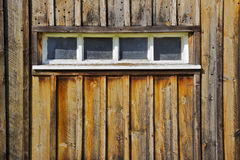 Four paned Barn Window Royalty Free Stock Photos