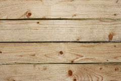 Four parallel wooden boards Stock Photos