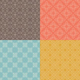 Four Patterns Stock Image