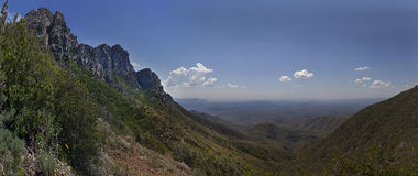Four Peaks Phoenix Arizona Panoramic Stock Photo