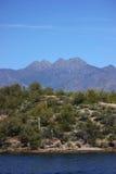 Four Peaks Stock Image