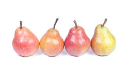 Four Pears Stock Image