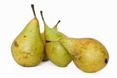 Four pears Royalty Free Stock Photo