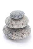 Four pebble sculpture Royalty Free Stock Images