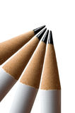 Four Pencils Stock Photography