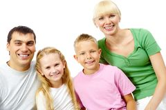 Four people Royalty Free Stock Photos