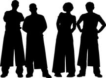 Four people Stock Photography