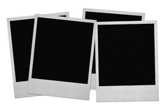 Four photo frames Royalty Free Stock Image