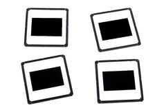 Four photo frames Royalty Free Stock Images