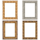 Four picture frames Stock Image