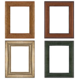 Four picture frames Royalty Free Stock Photos