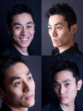 Four Pictures Of A Japanese Model
