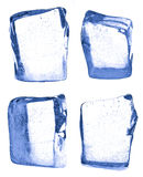 Four pieces of ice Royalty Free Stock Images