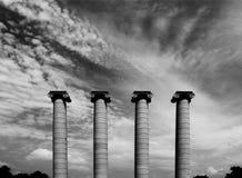 The four pilars Royalty Free Stock Photos