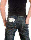 Four in a pocket Stock Image