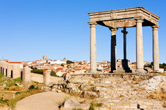 The four poles, Avila Stock Images