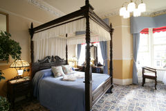 Four poster bed Royalty Free Stock Photos