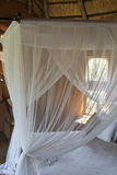 Four poster bed. In South Africa Royalty Free Stock Photography