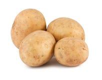 Four potatoes Royalty Free Stock Photos