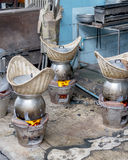 Four pour faire cuire la nourriture Photo libre de droits