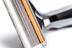 Four precision blades Stock Images